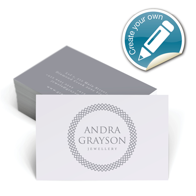 Customisable Business Cards - Designer Range # 1
